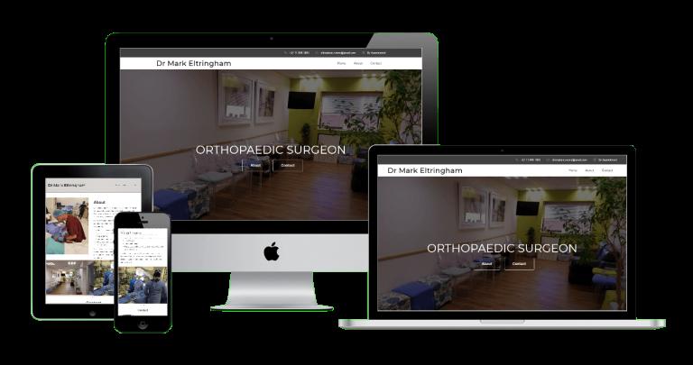 Dr Mark Eltringham Responsive Website
