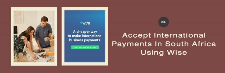 Accept international payments from South Africa using Wise